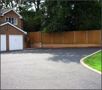 Domestic driveways and paving